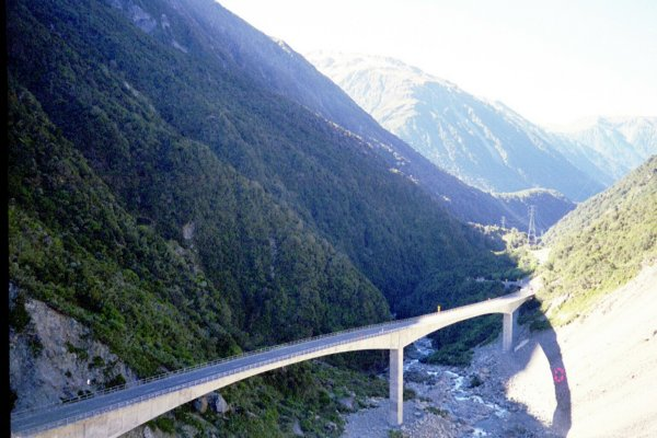 Arthur's Pass New Zealand  City new picture : Arthur's pass, in all it's glory. Nice bridge!